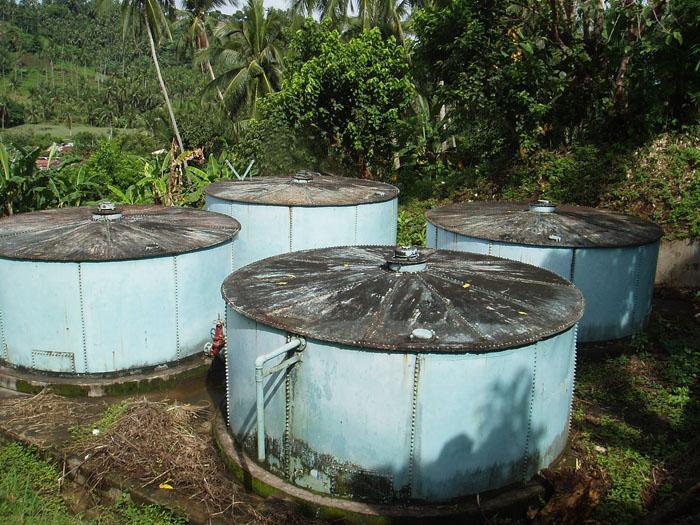 San Mateo Production Well Steel Tanks