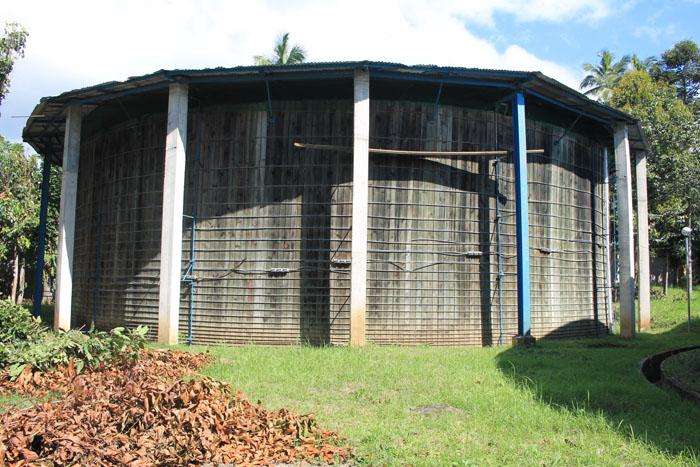 San Cristobal Production Well Timber Tank