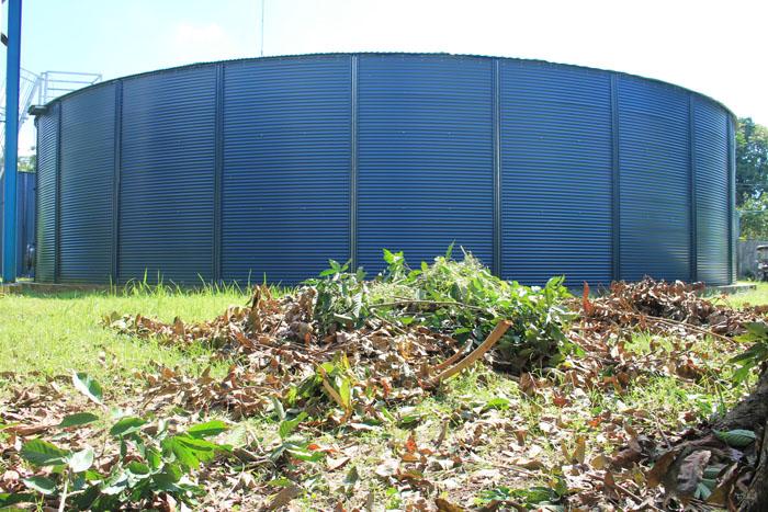 San Cristobal Production Well Steel Tank